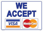 visa and mastercard accepted