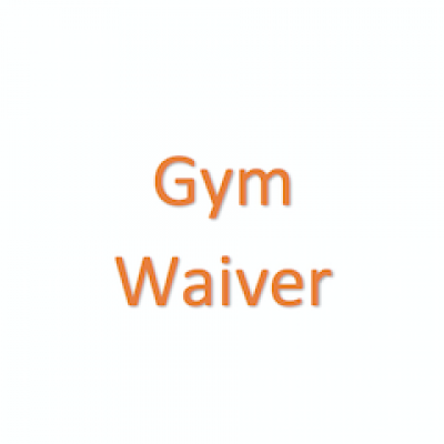 Gym Waiver